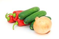 Smakelijke keuken. Verse groenten. Royalty-vrije Stock Foto's
