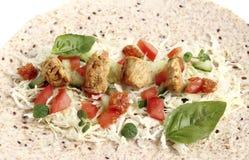 Smakelijke kip Fajita Royalty-vrije Stock Afbeeldingen