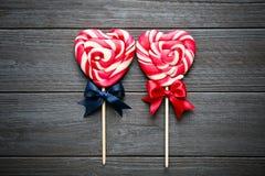 Smakelijke kleurrijke lollys royalty-vrije stock afbeelding