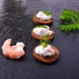 Smakelijke krabsalade Royalty-vrije Stock Foto's