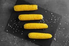 Smakelijke maïskolven Stock Foto