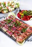 Smakelijke maaltijd royalty-vrije stock afbeeldingen