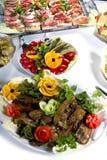 Smakelijke maaltijd royalty-vrije stock afbeelding