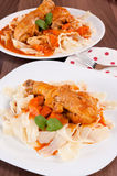 Smakelijke maaltijd Stock Afbeelding