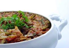 Smakelijke maaltijd Stock Afbeeldingen