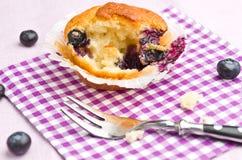 Smakelijke muffin Stock Foto