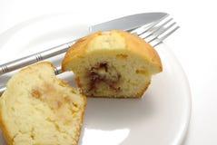Smakelijke muffin Royalty-vrije Stock Foto's
