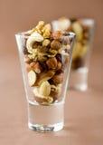 Smakelijke noten Stock Fotografie