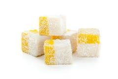 Smakelijke oosterse snoepjes Stock Foto's