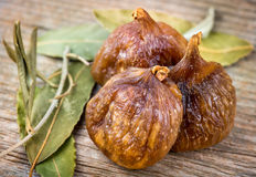Smakelijke Organische Droge Fig. Stock Fotografie