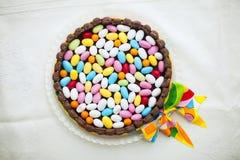Smakelijke Pasen-cake Royalty-vrije Stock Afbeeldingen