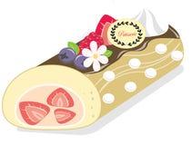 Smakelijke patisserie, gebakje, pastei, cake Royalty-vrije Stock Fotografie
