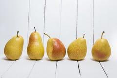 Smakelijke Portugese peren Stock Foto's