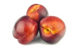 Smakelijke rijpe perziken Royalty-vrije Stock Fotografie