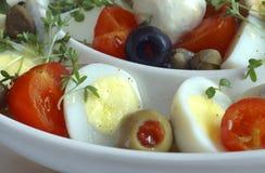 Smakelijke salade Stock Afbeelding