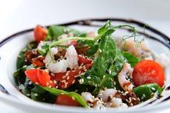 Smakelijke salade Royalty-vrije Stock Foto's