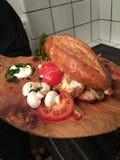 Smakelijke sandwich Stock Foto