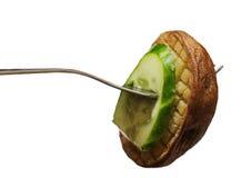 Smakelijke snack op een stop Royalty-vrije Stock Foto's