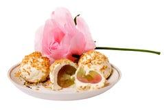Smakelijke snacks Stock Foto