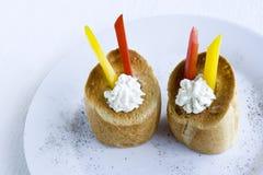 Smakelijke snacks Royalty-vrije Stock Afbeeldingen