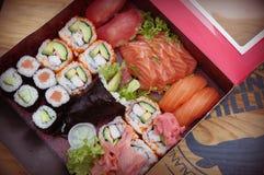 Smakelijke sushi Stock Afbeelding