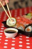 Smakelijke sushi royalty-vrije stock foto's