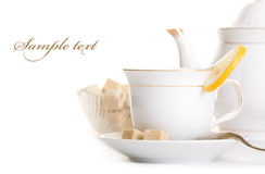 Smakelijke thee Royalty-vrije Stock Foto
