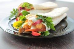 Smakelijke tortilla Royalty-vrije Stock Foto