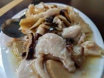 Smakelijke typische Aziatische maaltijd royalty-vrije stock foto