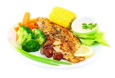 Smakelijke vissenfilet Stock Fotografie