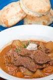 Smakelijke vlees en aardappelhutspot Royalty-vrije Stock Afbeeldingen