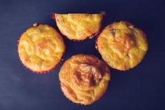 Smakelijke zoute muffins Royalty-vrije Stock Afbeelding
