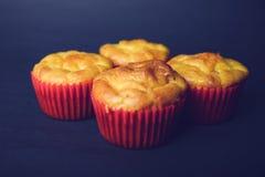 Smakelijke zoute muffins Stock Fotografie