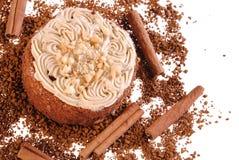 smaklig cakesvamp Royaltyfria Bilder