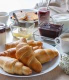 smaklig frukost royaltyfria foton