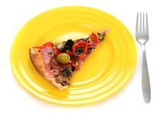 smaklig italiensk pizza Royaltyfri Bild