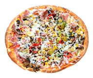 smaklig italiensk pizza Royaltyfria Bilder