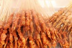 smaklig kebab royaltyfria bilder