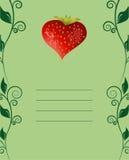 smaklig kortjordgubbe Royaltyfria Foton