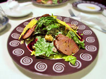 smaklig maträtt Royaltyfria Foton