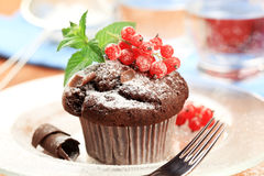 smaklig muffin royaltyfria foton