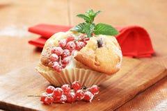 smaklig muffin arkivfoto