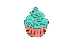 Smaklig muffin Arkivbild
