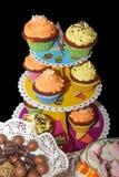Smaklig muffin för ditt speciala parti 1 Arkivbilder