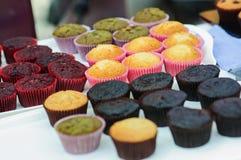 Smaklig muffintårta Royaltyfri Fotografi