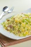 Smaklig och bra kokkonst eller drink som tar vid prålig belysning i restaurang Fotografering för Bildbyråer