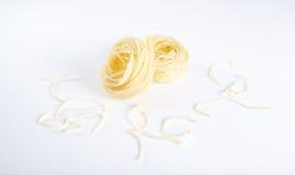 Smaklig pasta royaltyfria bilder
