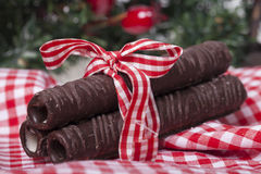 Smaklig söt choklad Royaltyfria Bilder