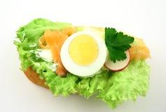 smaklig smörgås Arkivfoton