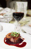 smaklig steak royaltyfri foto